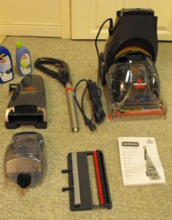 Review - Bissell Lightweight Quicksteamer Multi-Surface Carpet Cleaner