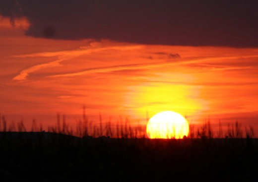 Another of Al's beautiful pictures; this one, sunset