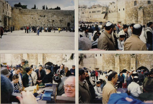 Enter the Dung Gate, walk tour of the old city, the Western Wall, wailing wall and the Temple Mount, visit to the Mosques.