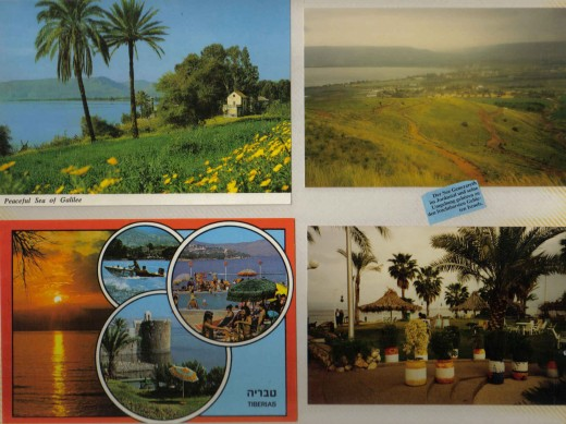 Peaceful Sea of Galilee in the Jordan Valley and its surroundings are among the most fertile regions of Israel.