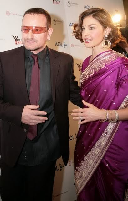 Ashley Judd in a sari