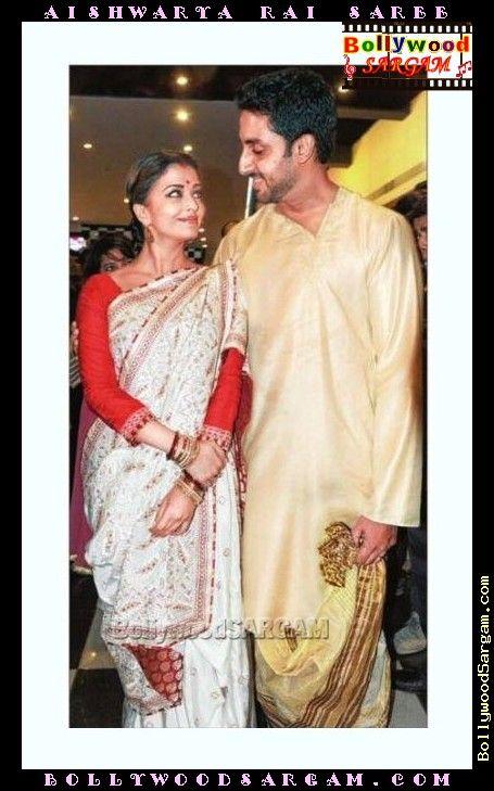 Aishwarya Rai in sari