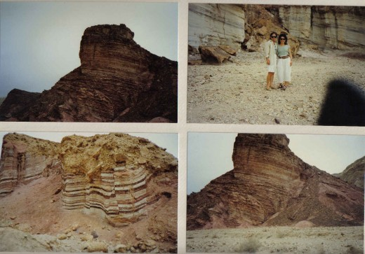 Jeep Safari, beautiful, amazing, colorful rock mountains. Jordan border, Israel