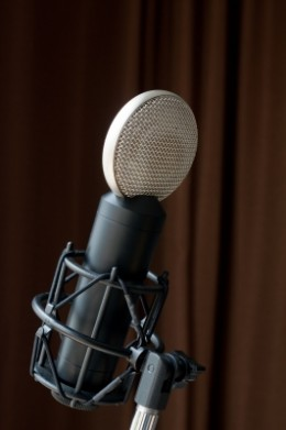 A microphone can be an important instrument to improve your career, or it could kill it.