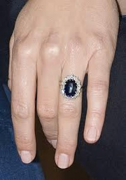 """The ring that was the talk of the """"town"""" and the world."""