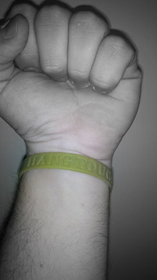 My Hang Tough Wristband