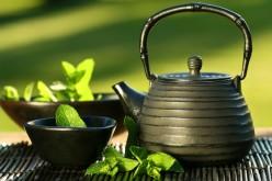Green tea, delicious and healthy