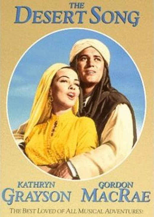 "The Desert Song..... Golden Oldie! http://www.youtube.com/watch?v=30SRarDHOR8 Mario Lanza sings ""One Alone""."