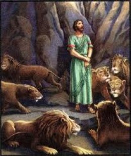 Daniel, the victim of trickery, was condemned to be torn apart by starving lions. Darius the king was tricked into sentencing him.
