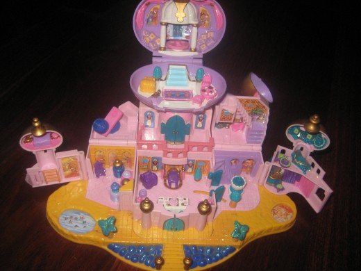 Jasmine and Aladdin Star Castle, given to me in around 2003 by my grandfather.