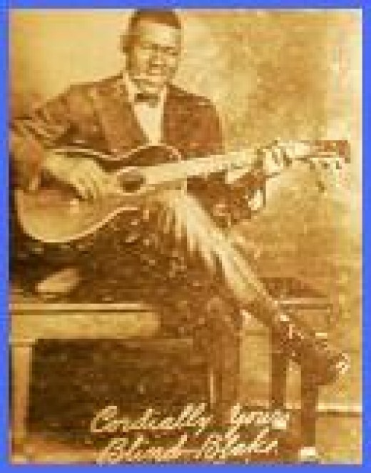 Blind Blake - Ragtime Blues Fingerpicking Guitar King