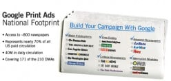 Get Your Ads Published Online and in Print with Google.com