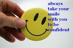 use your smile to build confidence