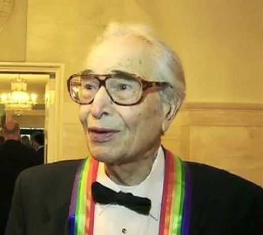 Dave Brubeck at the White House for the 2009 Kennedy Center Honors