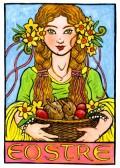 """Eostre"" the fertility goddess"