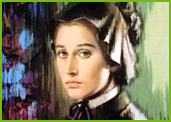 Sister Elizabeth Seton, founder of the Roman Catholic Sisters of Charity.