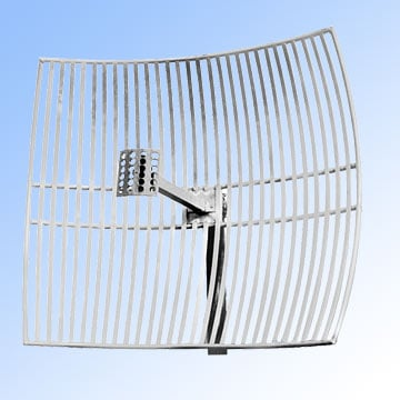 An ultra long range WiFi antenna or grid parabolic.