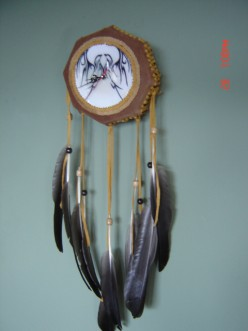 Native American Drum Style Wall Clock: Instructions-How to Make