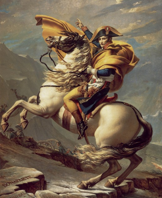 Napoleon I, by Jacques-Louis David
