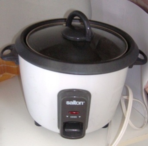 a must for easy rice cooking, Bob Ewing photo