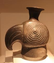 Condor pictured in a Peruvian ceramic. Picture: peruandarts.com