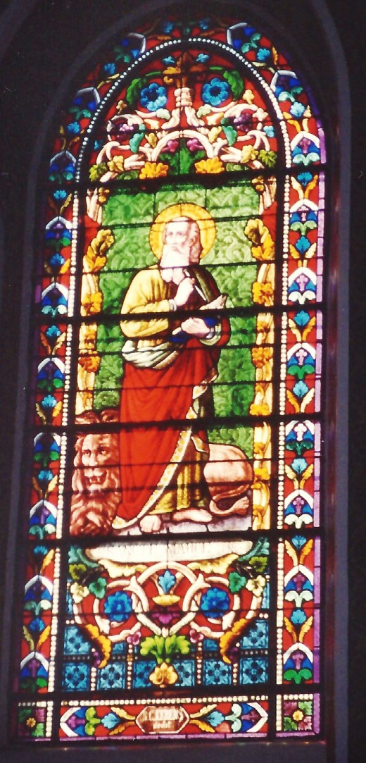 St. Francis Cathedral stained glass window