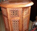 Full view of a small Moroccan Table