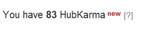 Using links is a great way to increase your Hubkarma.