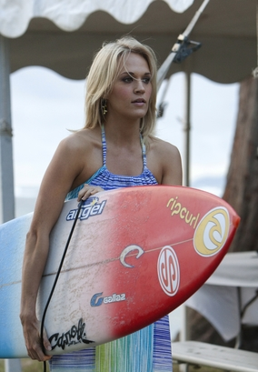 "Carrie Underwood in ""Soul Surfer."""