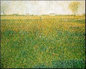 Alfalfa-St.Denis-1886 - by Georges Seurat