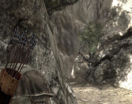 Tackling the Varn Shaman from Behind the Rock Surface