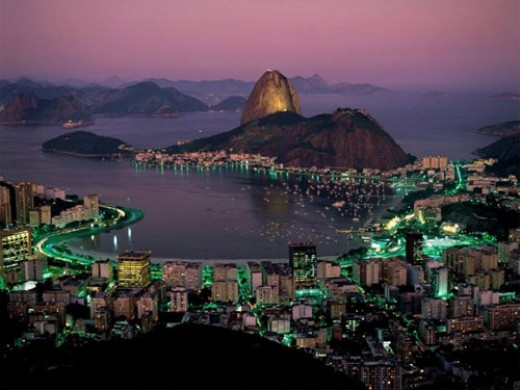 The beautiful city of Rio