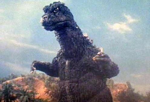 Godzilla, king of monsters.