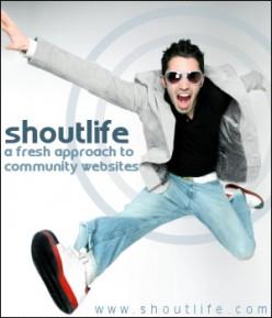 ShoutLife Promotional Poster