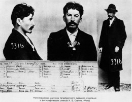Police records of Stalin.