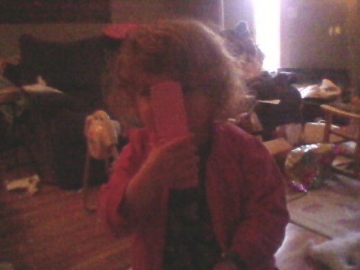 My daughter loves her Pajama Bible (and also her toy cell phone).