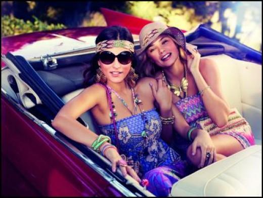 the fun bright gypsy spirit.