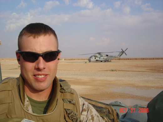 CJ Watt in Iraq, 2008