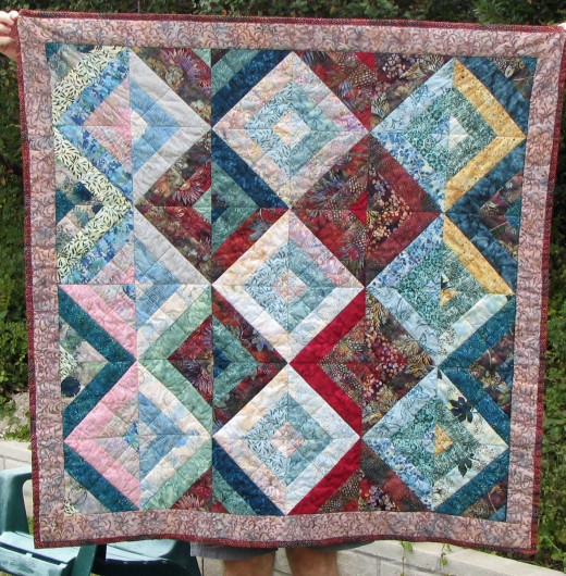 Example of a Round Robin Quilt