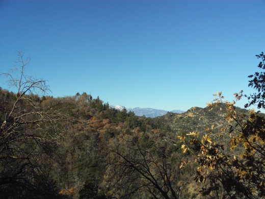 Another breathtaking view of Mount Baldy.