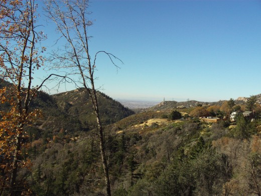 Hesperia is in the distance.