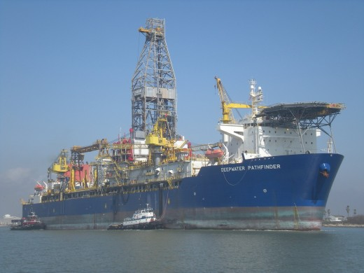 Deepwater Pathfinder (Photo from Texas Port Ministry)