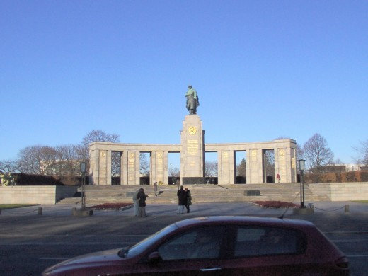 Soviet War Memorial in the Tiergarten, Berlin