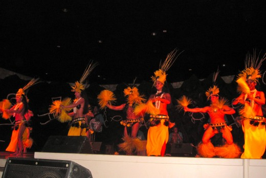 Legends of the Pacific luau at The Hilton Waikoloa Village.