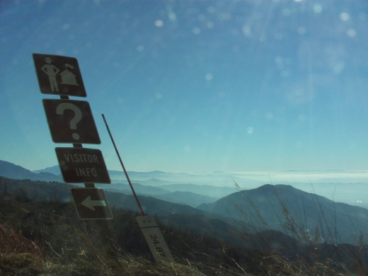 Another breath-taking view from the Rim of the World Highway.
