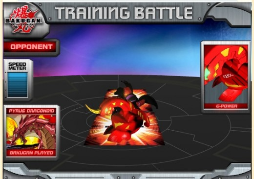 Here is part of a training battle