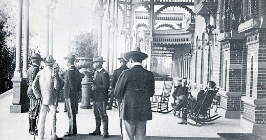 Tampa Bay Hotel Patio 1898