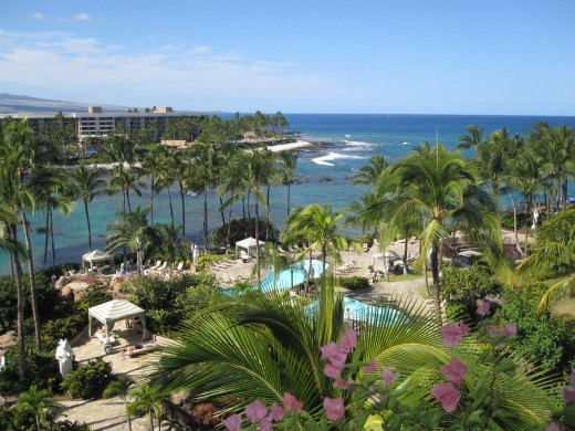 The Hilton Waikoloa Village.