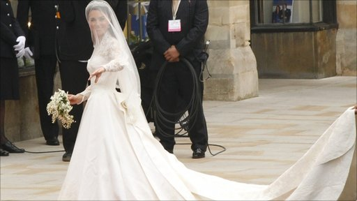 Kate Middleton's bridal gown