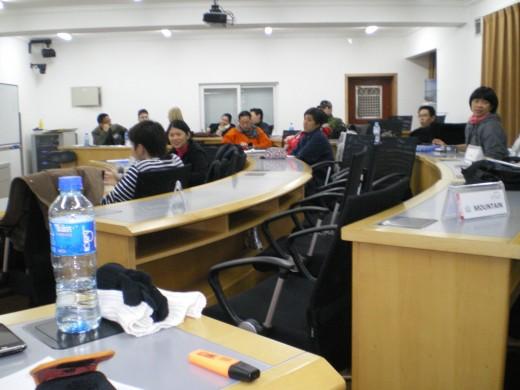 BICIS 2010 Beijing Classroom